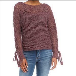 Jolt brand Deep purple sweater